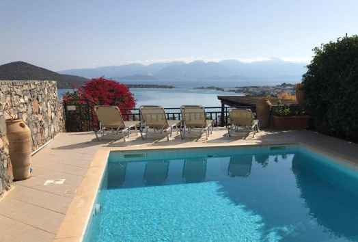 villa for sale in Crete, seaview, elounda,