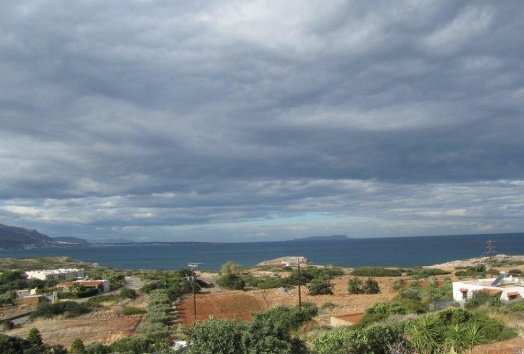 villa for sale in Sisi, seaview
