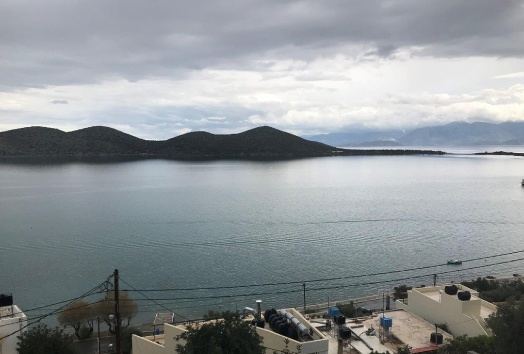 apartment for sale in Elounda, seaview, sea front, view, lasithi, crete