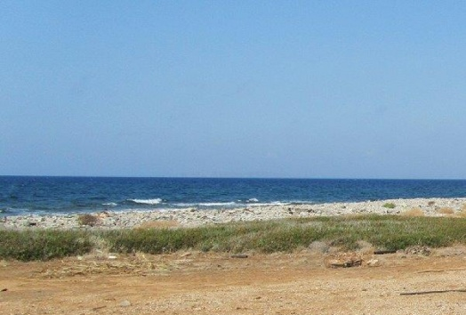 plot for sale, seafront, siteia, crete, greece