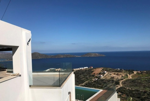 vila, for sale, elounda, sea view, pool, lasithi, crete,