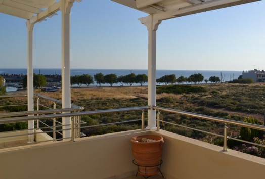 villa for sale, milatos, seaside, crete, greece, seaview